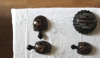 Quatre cendriers africains