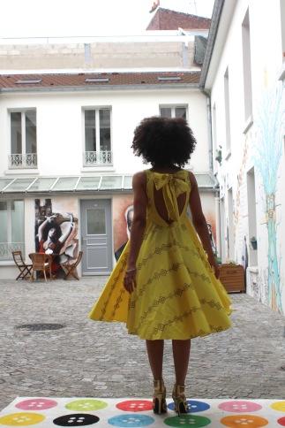 La robe Jahïka portée par Alyssa