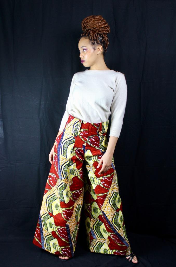 pantalon palazzo carotte braies hair coiffure africaine